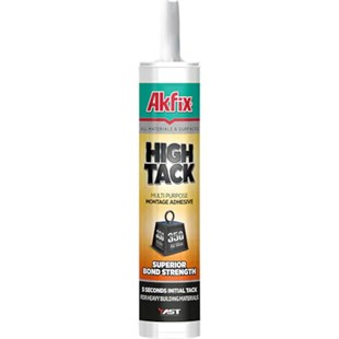 Akfix MS757 High Tack  Mastik Beyaz 290ml